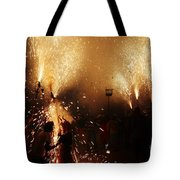 Sparked Tote Bag