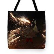 Sparkling Dragon Tote Bag