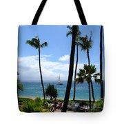 Sparkling Sea At Kaanapali Maui Tote Bag