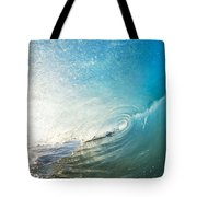 Sparkling Wave IIi Tote Bag