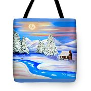 Sparkling Winter Tote Bag