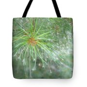 Sparkly Pine Tote Bag