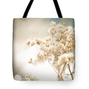 Sparkly Weeds Tote Bag