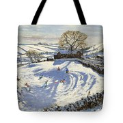 Sparrowpit Derbyshire Tote Bag by Andrew Macara