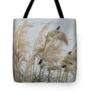 Sparrows In Breeze Tote Bag