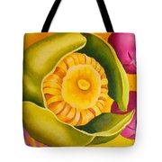 Spatterdock - Panel 1 Of 3 Tote Bag