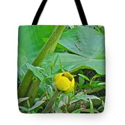 Spatterdock Wild Yellow Water Lily - Nuphar Lutea Tote Bag