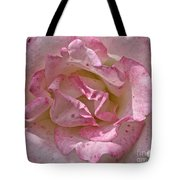 Spattered Pink Promises Tote Bag