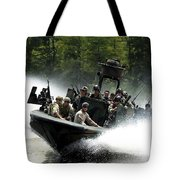 Special Forces In A High-speed Combat Tote Bag