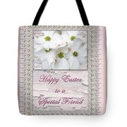 Special Friend Easter Card - Flowering Dogwood Tote Bag