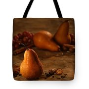 Spiced Pears Tote Bag