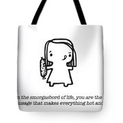 Spicy Sausage Tote Bag