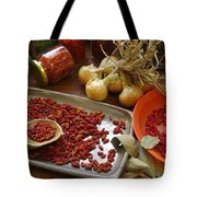 Spicy Still Life Tote Bag