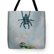 Spider Fly And Toad Tote Bag by Fabrizio Cassetta