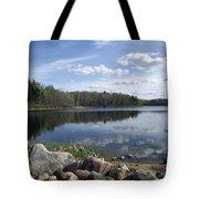 Spider Lake Tote Bag