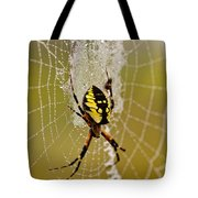 Spider Power Tote Bag