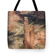 Spider Rock - Canyon De Chelly Tote Bag