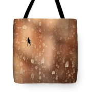 Spider Spots Tote Bag