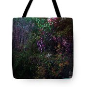 Spider Web In The Magic Forest Tote Bag