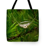 Spider Webs And Diamond Rings 10 Tote Bag