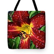 Spiderman The Day Lily Tote Bag