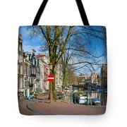 Spiegelgracht 36. Amsterdam Tote Bag