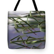 Spike Curls Tote Bag