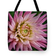 Spiked Dahlia Tote Bag