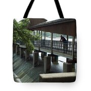 Spillway In Indiana Tote Bag