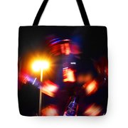 Spinning Ride Tote Bag