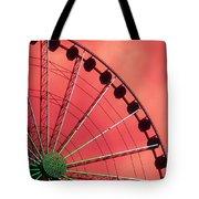 Spinning Wheel Tote Bag