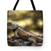 Spiny Lizard Tote Bag