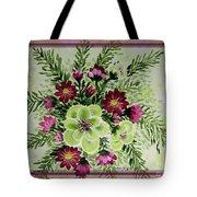 Spiral Bouquet  Tote Bag