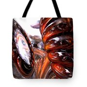 Spiral Dimension Abstract Tote Bag