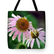 Spiraling Spikes Tote Bag