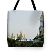 Spires Of Church Tote Bag