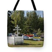 Spirit Houses Of Eklutna Tote Bag