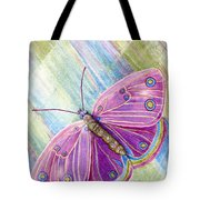 Spiritual Butterfly Tote Bag