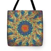 Spiritual Pinwheel Tote Bag