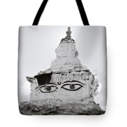 Spirituality In The Himalayas Tote Bag