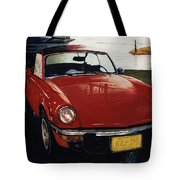 Spitfire By Night Tote Bag