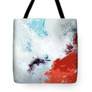 Splash Tote Bag by Glennis Siverson