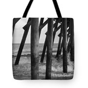 Splashing Waves Tote Bag
