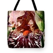 Splattered Iris Tote Bag