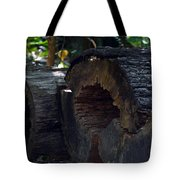 Split A Piece Of Wood Tote Bag
