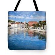 Split Bay In Croatia Tote Bag