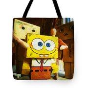 Spongebob Always Loves The Group Hugs Tote Bag