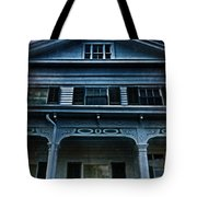Spooky House Tote Bag
