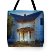 Spooky Old House Tote Bag