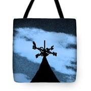 Spooky Silhouette Tote Bag by Al Powell Photography USA